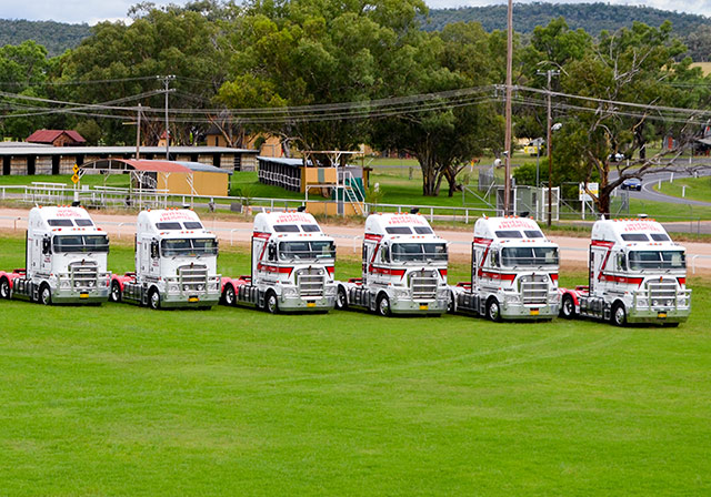 Inverell Freighters' fleet of prime movers